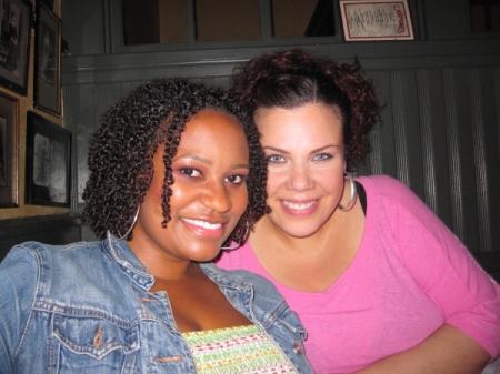 Birthday Girl Celebrity Make Up Artist Tara Taylor with Madeline Figueroa-Jones