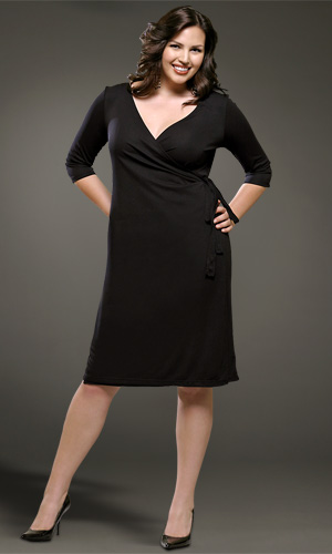The wrap dress is universally flattering on every body type!
