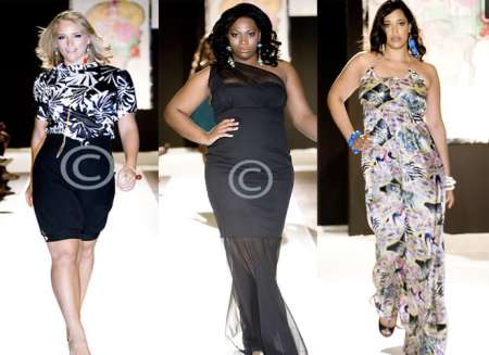 Candi Apple Couture for Full Figure Fashion Week