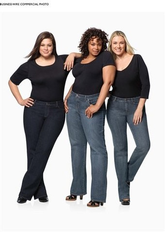 Lane Bryant's new revolutionary RIGHT FIT plus-size jeans