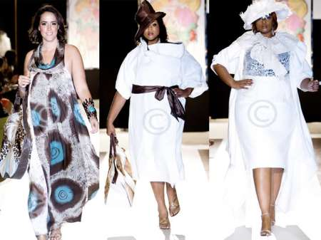 LaMacia Fashions for Full Figure Fashion Week