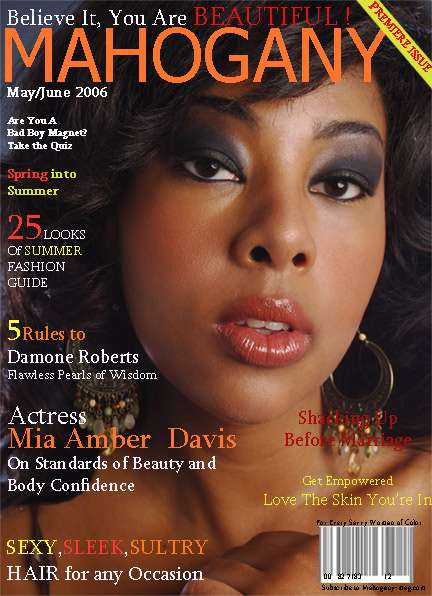 This was my first magazine cover!