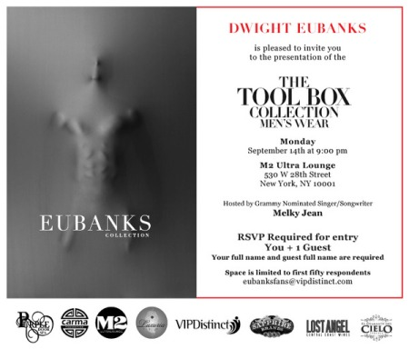 Dwight Eubanks Toolbox Invite