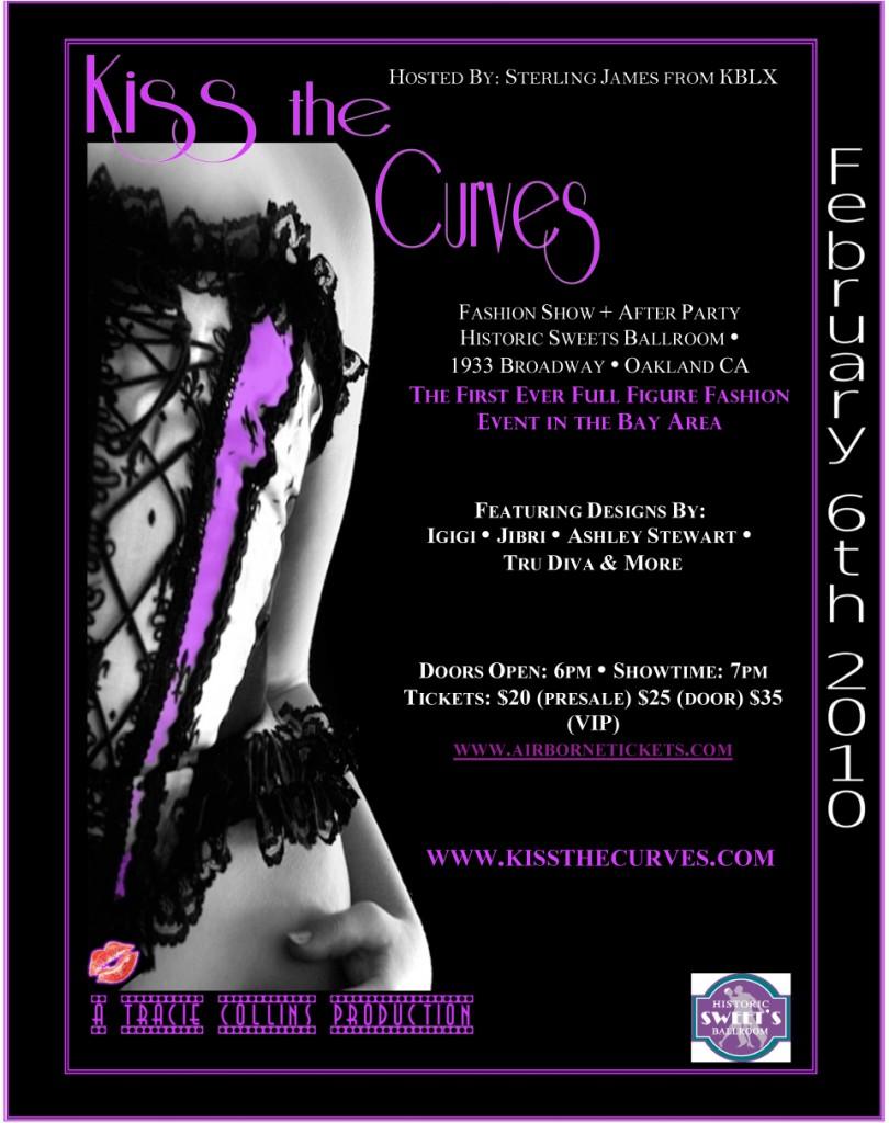 Fashion Show Flyer Design Plus size fashion event,