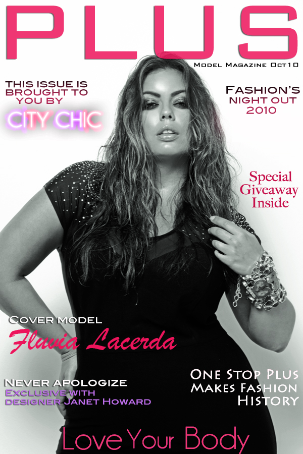 Plus size magazine models