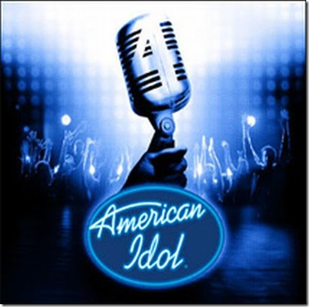 "american idol logo 2009. ""Too Heavy"" for Idol Audience"